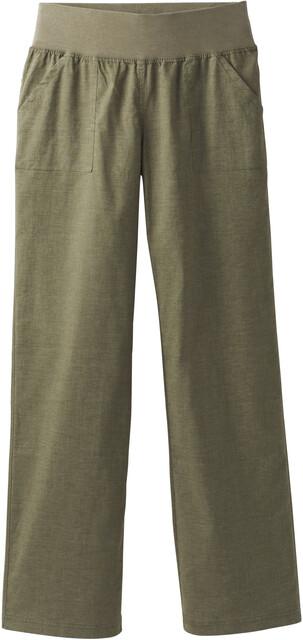 Prana W's Mantra Pants Cargo Grön